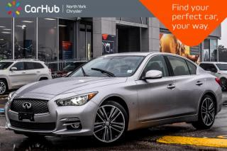 Used 2015 Infiniti Q50 Sport AWD|Sunroof|Nav|Keyless_Entry|Backup Cam|Bluetooth|19
