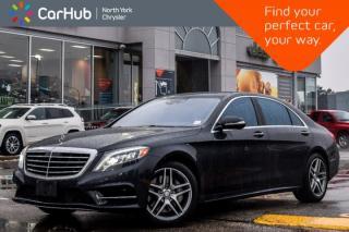 Used 2015 Mercedes-Benz S-Class S 550|AWD|KeylessGo Pkgs|Pano_Sunroof|Nav|19