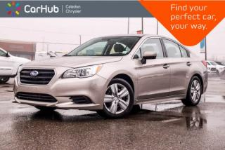 Used 2016 Subaru Legacy 2.5i|AWD|Backup Cam|Bluetooth|Heated Front Seats|Keyless Entry|17