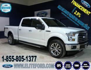 Used 2017 Ford F-150 SCREW, CUIR, TOIT, GPS, ÉCOBOOST for sale in St-Jérôme, QC