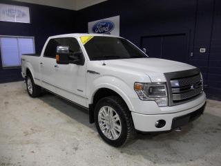 Used 2014 Ford F-150 SUPERCREW PLATINUM ECOBOOST for sale in St-Jérôme, QC