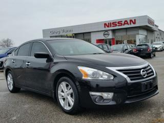 Used 2014 Nissan Altima 2.5 SV w/NAV,pwr group,climate control,power sunroof,heated seats,rear cam,remote start for sale in Cambridge, ON