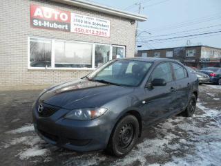 Used 2005 Mazda MAZDA3 GX for sale in St-Hubert, QC