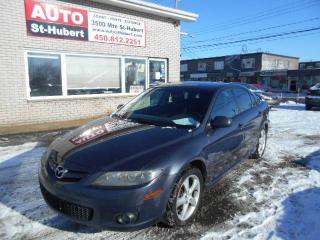 Used 2007 Mazda MAZDA6 GS for sale in St-Hubert, QC