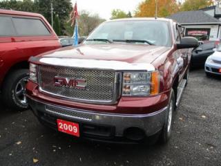 Used 2009 GMC Sierra 1500 WORK READY SLE MODEL 6 PASSENGER 5.3L - V8.. 2WD.. CREW.. SHORTY.. CLOTH.. TRAILER BRAKE.. for sale in Bradford, ON
