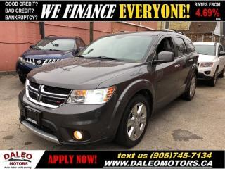 Used 2014 Dodge Journey R/T 3.6L 6 CYL | AWD | 7 PASS | LEATHER | NAV for sale in Hamilton, ON
