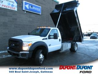 Used 2014 Ford F-550 Cab ord 4RM empat 141po cab à essieu 60p for sale in Gatineau, QC