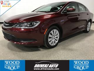 Used 2016 Chrysler 200 LX LOW KM! ONE OWNER , CLEAN CARFAX. for sale in Calgary, AB