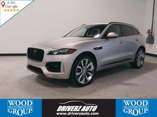 Used 2017 Jaguar F-PACE 35t R-Sport CLEAN CARFAX, R-SPORT, SUPERCHARGED for sale in Calgary, AB