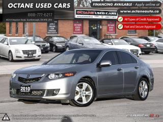 Used 2010 Acura TSX Technology Package ACCIDENT FREE! ONTARIO VEHICLE! Service Records Available! for sale in Scarborough, ON
