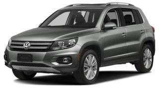 Used 2016 Volkswagen Tiguan Trendline for sale in Ottawa, ON
