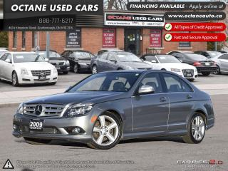 Used 2009 Mercedes-Benz C-Class 4MATIC! MINT CONDITION! WE FINANCE! for sale in Scarborough, ON