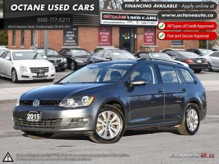 Used 2015 Volkswagen Golf Sportwagon 2.0 TDI Comfortline ACCIDENT FREE! ONTARIO VEHICLE! for sale in Scarborough, ON