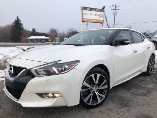 Used 2017 Nissan Maxima SV Nice with NAV, Heated Steering, Heated Leather, BackupCam and Pwr Everything! for sale in Kemptville, ON
