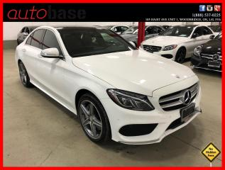 Used 2015 Mercedes-Benz C-Class C300 4MATIC PREMIUM PLUS SPORT BURMESTER LED for sale in Vaughan, ON