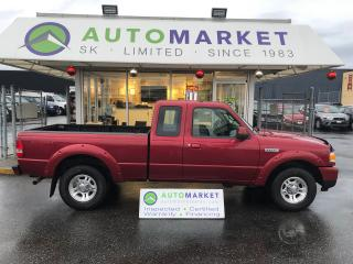 Used 2009 Ford Ranger XLT SuperCab 85KM!! YOU WORK/YOU DRIVE! for sale in Langley, BC