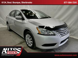 Used 2014 Nissan Sentra 1.8 S + Bluetooth for sale in Sherbrooke, QC