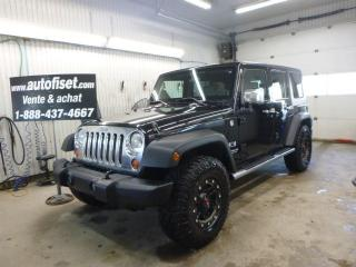 Used 2009 Jeep Wrangler X for sale in St-Raymond, QC