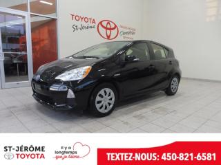 Used 2014 Toyota Prius c Hybride Gr. élec for sale in Mirabel, QC