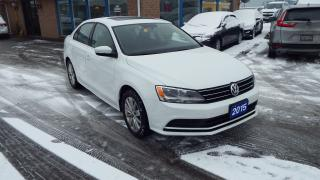 Used 2015 Volkswagen Jetta COMFORTLINE/BACKUP CAMERA/SUNROOF/$85461 for sale in Brampton, ON