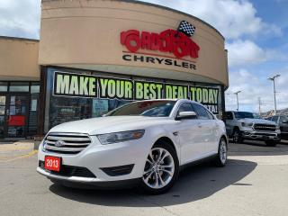 Used 2013 Ford Taurus SEL+ ALL WHEEL DRIVE+ LEATHER+ SUNROOF +NAVIGATION for sale in Toronto, ON