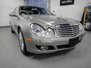 Used 2008 Mercedes-Benz E-Class NAVI,NO ACCIDENT,ALL SERVICE RECORDS for sale in North York, ON