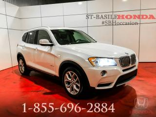 Used 2014 BMW X3 XDRIVE28i + GARANTIE + WOW !!! for sale in St-Basile-le-Grand, QC
