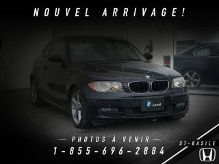 Used 2009 BMW 1 Series 128 BAS KILO + MAGS + UN PROPRIO !!! for sale in St-Basile-le-Grand, QC
