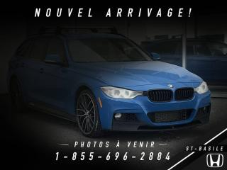 Used 2015 BMW 328i XDRIVE + M PERFOMANCE + NAVI + WOW !!! for sale in St-Basile-le-Grand, QC
