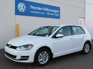 Used 2017 Volkswagen Golf TRENDLINE AUTO W/ CONNECTIVITY PACKAGE for sale in Edmonton, AB