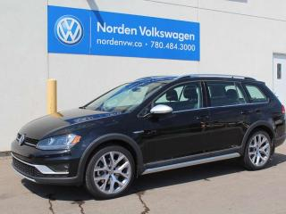 Used 2017 Volkswagen Golf Alltrack 1.8 TSI AUTOMATIC DSG W / LIGHT AND SOUND / DRIVER ASSIST PKG for sale in Edmonton, AB
