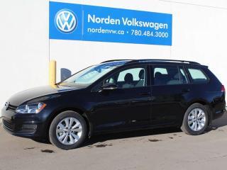 Used 2017 Volkswagen Golf SPORTWAGEN 4MOTION TRENDLINE AUTOMATIC W/ CONNECTIVITY PLUS PKG for sale in Edmonton, AB