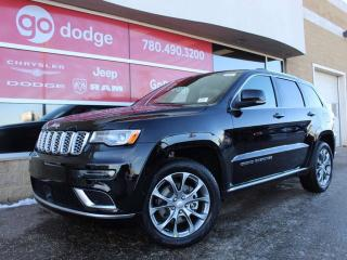 New 2019 Jeep Grand Cherokee Summit / GPS Navigation for sale in Edmonton, AB