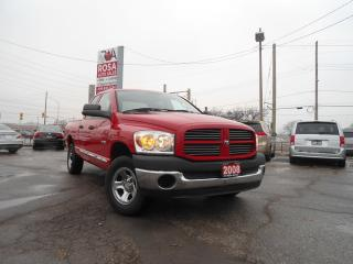 Used 2008 Dodge Ram 1500 4x4 HEMI LOW KM SAFETY BIG HORN NO ACCIDENT PW PL for sale in Oakville, ON