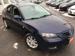 Used 2009 Mazda MAZDA3 GS/ AUTO/ POWER SUNROOF/ ALLOYS/ LOADED! for sale in Scarborough, ON