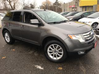 Used 2010 Ford Edge SEL/ AUTO/ LEATHER/ PANORAMIC SUNROOF/ ALLOYS! for sale in Scarborough, ON