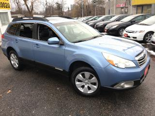 Used 2010 Subaru Outback 2.5i SPORT/ AWD/ 6 SPD/ LEATHER/ SUNROFF/ ALLOYS! for sale in Scarborough, ON