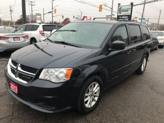 Used 2013 Dodge Grand Caravan SXT l DVD l No Accidents l Back Up Cam for sale in Waterloo, ON