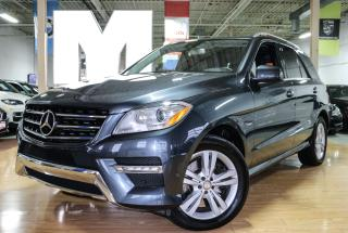 Used 2012 Mercedes-Benz ML-Class ML350 - BLINDSPOT|LANEKEEP|NAVI|BACKUP|SUNROOF for sale in North York, ON