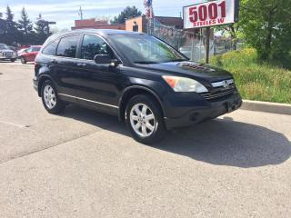 Used 2007 Honda CR-V AWD,LEATHER,S/R,SAFETY+3YEARS WARANTY INCLUDE for sale in Toronto, ON