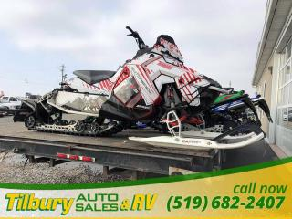 Used 2015 Polaris SwitchBack Pro-S 800 *Studded Track, Ca Pro skis, Wrapped* for sale in Tilbury, ON