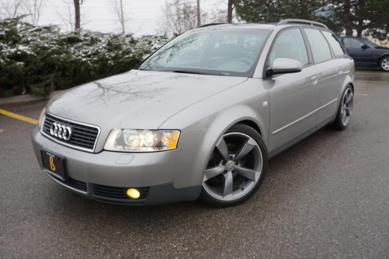 2003 Audi A4 1.8T AVANT / LOWERED / S5 ROTOR WHEELS