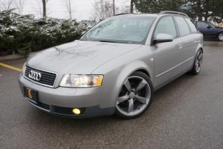 Used 2003 Audi A4 1.8T AVANT / LOWERED / S5 ROTOR WHEELS for sale in Etobicoke, ON