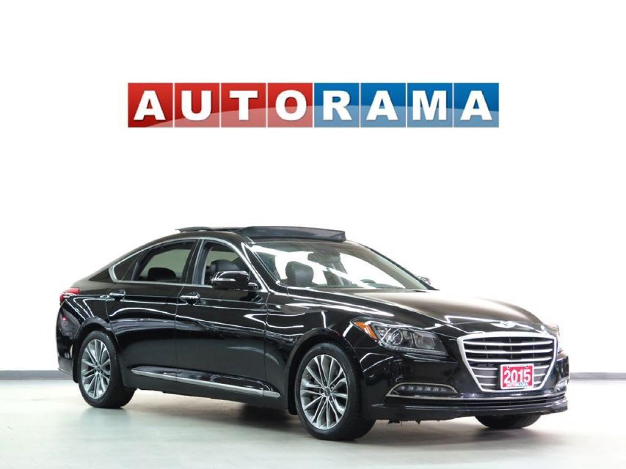2015 Hyundai Genesis 3.8 AWD NAVIGATION LEATHER PAN SUNROOF BACK UP CAM