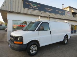 Used 2010 Chevrolet Express 3500 EXPRESS 3500 , LADDER RACKS, SHELVES, DIVIDER for sale in Mississauga, ON