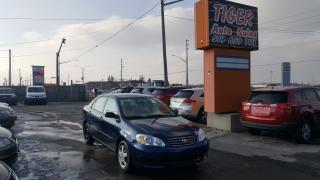 Used 2004 Toyota Corolla CE**ONLY 146 KMS**AUTOMATIC**CERTIFIED for sale in London, ON