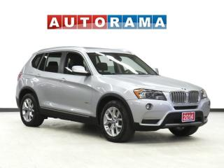 Used 2014 BMW X3 xDrive28i NAVIGATION PAN SUNROOF LEATHER AWD for sale in Toronto, ON