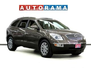 Used 2011 Buick Enclave CXL NAVI BACK UP CAM 7 PASSENGER LEATHER SUNROOF A for sale in Toronto, ON