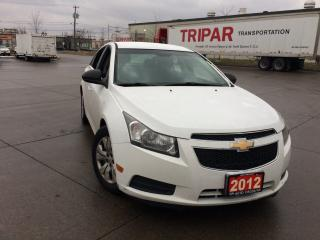 Used 2012 Chevrolet Cruze 4 Door, Automatic, 3 Years warranty available for sale in Toronto, ON