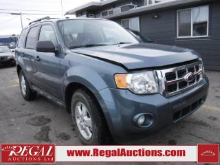 Used 2012 Ford Escape 4D Util 4CYL AT 2WD for sale in Calgary, AB